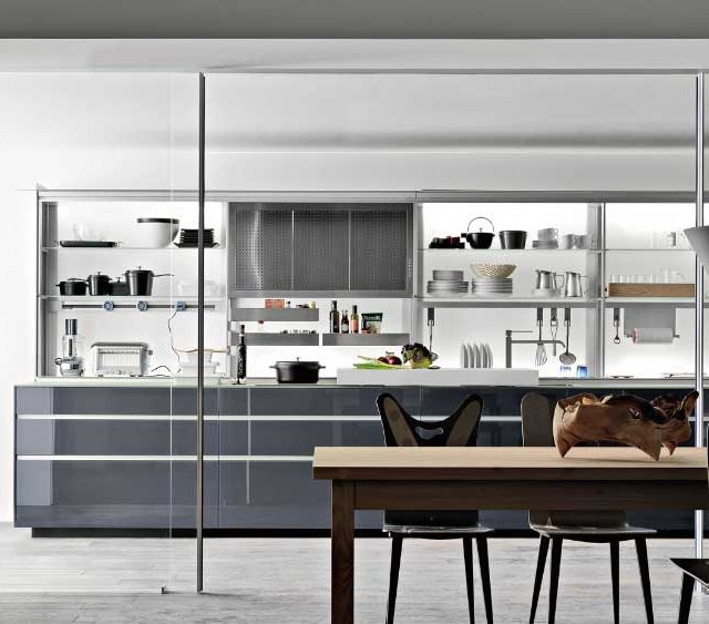 Valcucine. Artematica Vitrum. Valcucine Kitchens Old Handicraft ...