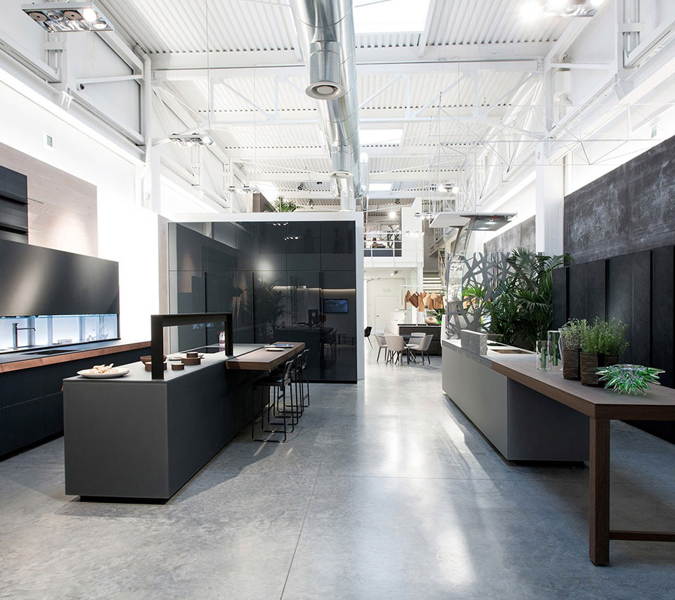 take a design tour of valcucine with